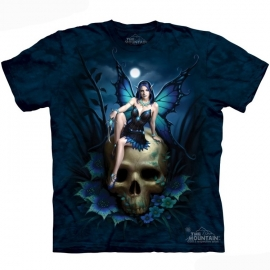 The Mountain tshirt gothique Skull Fairy