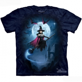 The Mountain tshirt gothique witch's flight