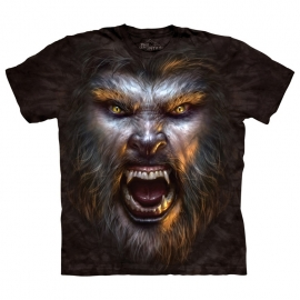 The Mountain tshirt Werewolf Face