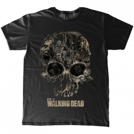T-Shirt The Walking Dead Skull