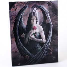 toile sur chassis gothique anne stokes angel rose