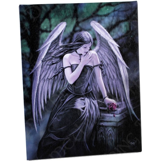 Toile sur chassis gothique anne stokes lost soul - Toile sur chassis ...