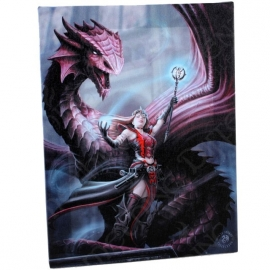 toile sur chassis gothique anne stokes Scarlet Mage