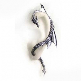 tour d'oreille gothique alchemy gothic the dragon lure gauche