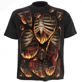 tshirt gothique spiral direct inferno