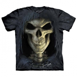 The Mountain tshirt gothique Big Face Death 103652