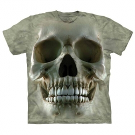 The Mountain tshirt gothique Big Face Skull 103713