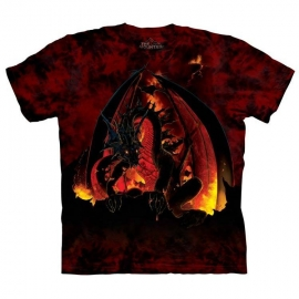 The Mountain tshirt gothique Fireball 103127