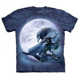 The Mountain tshirt gothique Raven Moon 103814
