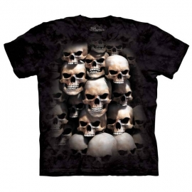 The Mountain tshirt gothique Skull Crypt 106001