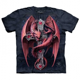 The Mountain tshirt Gothic Guardian
